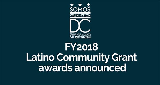 FY18 Latino Community Grant Awards Announced