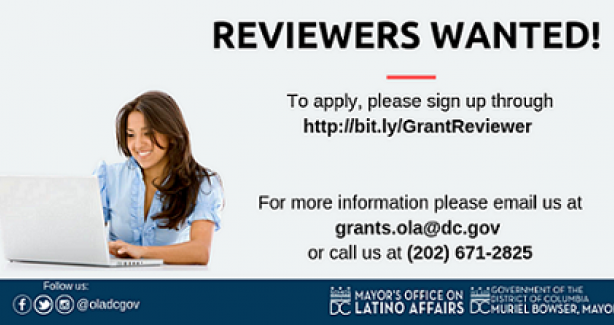 Call For Grant Reviewers