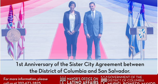 Sister City Agreement 1st Anniversary