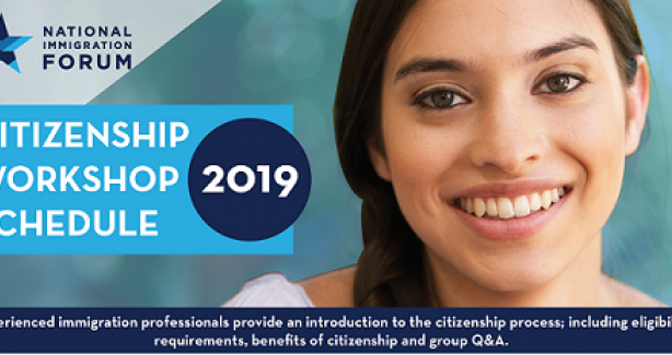 Citizenship Workshop Schedule 2019