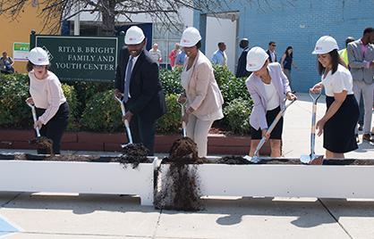 Mayor Bowser Breaks Ground on Ward 1 Short-Term Family Housing